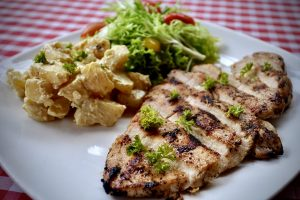 Char-Grilled Italian Herb Chicken Breast